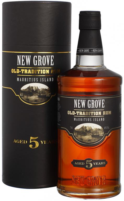New Grove Old Tradition 5y. Rum 40 % 0,7 l