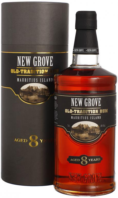 New Grove Old Tradition 8y. Rum 40 % 0,7 l