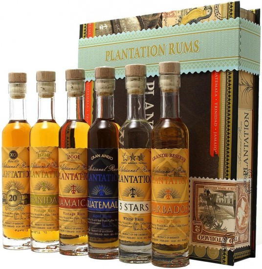 Plantation Cigar Box 6 x 0,1L 0,6L 41,2 %