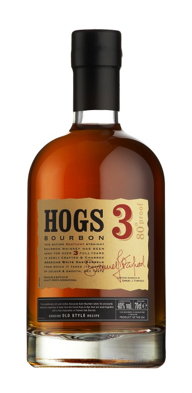Hogs 3 Kentucky Bourbon 40 % 0,7 l