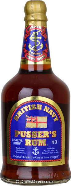 Pussers British Navy 54,5 % 0,7 l