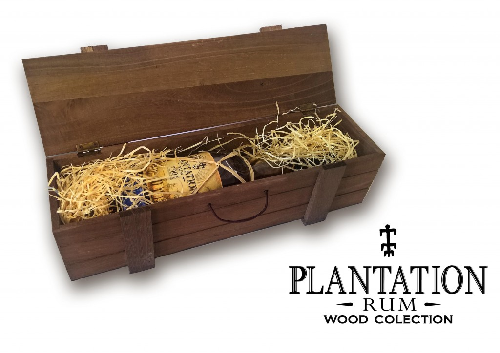 Plantation Original Dark Rum Wood Box 0,7L 40 %